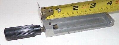 Vintage Kingsley Hot Foil Stamping Machine 3 Inch Center Single Line Type Holder