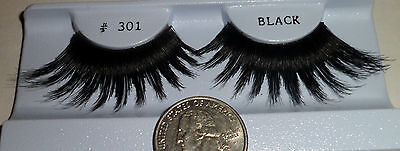 1 pair # 301 False eyelashes Showgirl Drag Queen Cross Dresser Stripper Costume](Pairs Costumes)