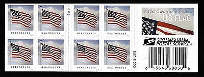 US Flag (forever) 2015 Issue - MNH Booklet Pane of 20