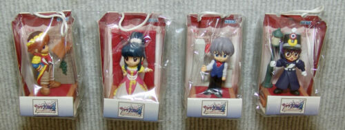 NEW SEGA SAKURA WARS 4, UFO CATCHER PRIZE Set Complete 4 pc.Set *USA SELLER*