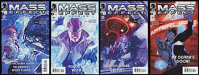 Mass Effect Invasion Comic Full Set 1-2-3-4 Lot Mac Walters Based on video game