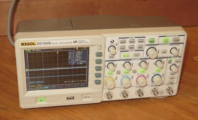 Rigol Ds1204b Digital Oscilloscope 4-channel 200mhz 2gsas