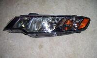 2011 Kia Forte left head light