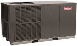 Goodman 3.5 Ton, 14 SEER Self-Contained Packaged Air Conditioner, Horizontal