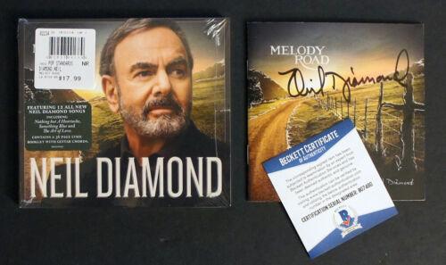 "NEIL DIAMOND SIGNED Autographed ""Melody Road"" CD w/ BECKETT COA!"