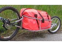 Adventure Folding Cargo Bike Trailer