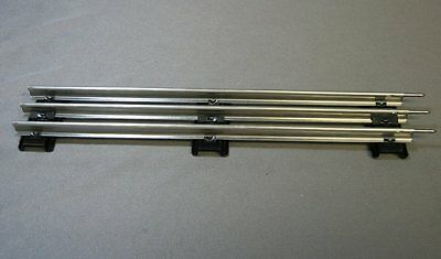 "LIONEL O GAUGE STANDARD 10"" STRAIGHT TRACK SECTION Tubular 3 rail 6-65500 NEW"