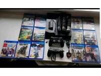 PlayStation 4 console and loads of extras