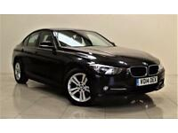BMW 3 SERIES 2.0 320D SPORT 4d 184 BHP + 1 OWNER FROM NEW (black) 2014