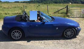 BMW Z4 2.0 i SE Roadster 2dr 64.000 miles.