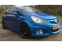 Vauxhall Corsa vxr Arden blue 50,000