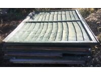 Used 4 ft wooden lap fence panels several available