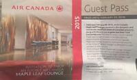 ***Air Canada Maple Leaf lounge pass for sale**£