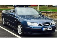 2006 (MAY06) SAAB 9-3 2.0 LINEAR - CONVERTIBLE - MANUAL - PETROL - 2 DOORS