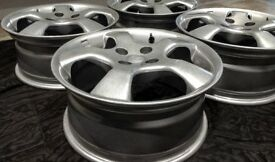 "Mille Miglia spider 16"" wheels X4 Italian 5 Spoke alloys. MX5, CIVIC, VAUXHALL, CITREON"