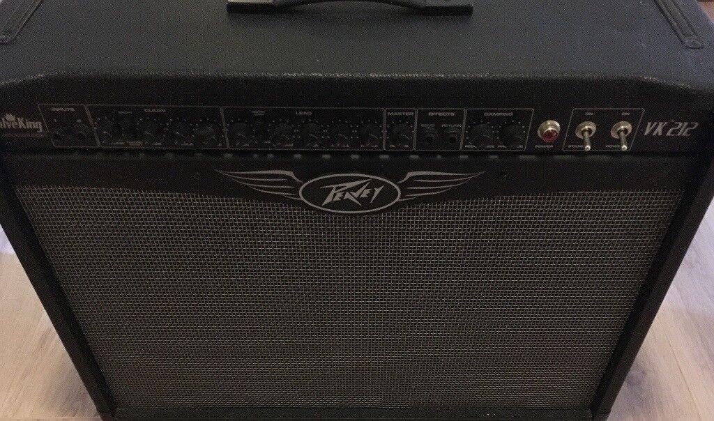 Peavey Valveking 212 Guitar Amplifier 100w All Tube Amplifier Amazing Condition In Grange