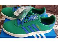 Adidas trimm trab green blue UK 12 BNIB