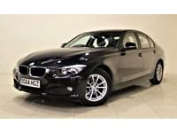 BMW 3 SERIES 2.0 320D EFFICIENTDYNAMICS BUSINESS 4d 161 BHP (black) 2014