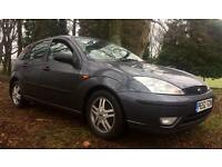 2002 FORD FOCUS ZETEC 1.6 100 BHP FULL SERVICE HISTORY / SPARES OR REPAIRS (READ FULL ADVERT)