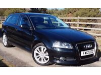 AUDI A3 1.6TDI SPORT. 5 DOOR. FULL SERVICE HISTORY. ...LOW MILEAGE