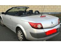 2006 RENAULT MEGANE CONVERTIBLE SILVER AUTO