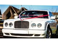 Bentley Arnage (2005). 6.8L. White Wrap. Full Service History.