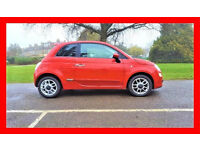 41500 Miles ----- 2011 Fiat 500 SPORT 1.2 ----- Hpi Clear ----- Half Leather Seats ----- Sporty 500