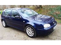 VW GOLF 1.9 GT TDI 150 with Low Mileage and New 1 Years MOT