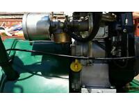 Petrol lawn mower Qualcast