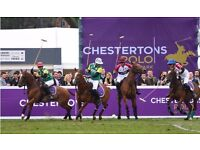 3 x Chesterton's Polo in the Park Tickets (Ladies Day) Saturday 10 June 2017 £47.50 each