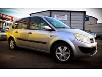 Cheap Renault Scenic, 7 seater, 1.6 Petrol