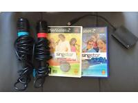 PlayStation 2 Singstar Popworld and Party