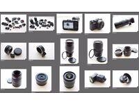 Complete professional Canon camera set