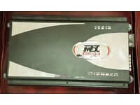 CAR AMPLIFIER MTX THUNDER 1501D 1500 WATT RMS 1 CH MONOBLOCK SUBWOOFER AMP DESIGNED FOR SUB WOOFER