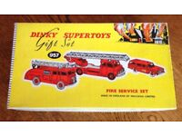 Dinky Gift Set 957 Fire Service