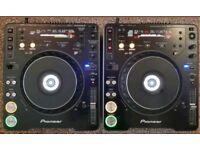 2 X PIONEER CDJ 1000 MK3 MINT ,LIKE NEW , PRO DJ DECKS MP3