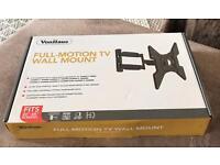 VonHaus Full Motion TV Wall Mount