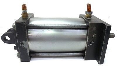 Unknown Brand Double Acting Air Cylinder 4 14 Bore 6 Stroke 12 Port Size