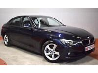 BMW 3 SERIES 320I SE 4 Door Saloon (blue) 2012