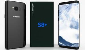 BRAND NEW SAMSUNG GALAXY S8 PLUS 64GB UNLOCKED BLACK $799