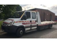 2005 RECOVERY TRUCK IVECO CHASSIS CAB 2.8 TURBO DIESEL 146 BHP 6 SPEED GEARBOX 6 SEATER