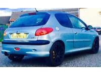 Peugeot 206 GTI Sp low milage very clean not astra golf Cleo type r