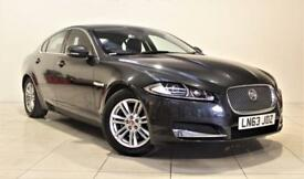 JAGUAR XF 2.2 D LUXURY 4d AUTO 200 BHP + 1 OWNER + SERVICE H (grey) 2014