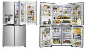 NEW LG - GF-5D906SL - Door-in-Door French Door Refrigerator Mardi Wyong Area Preview