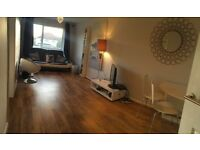 Large Newly decorated First Floor flat with Garden and Parking space, KT6 Tolworth