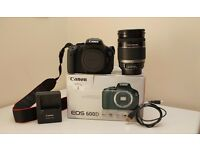 Canon EOS 600D 18.0MP Digital SLR Camera + EF-S 18-200mm f/3.5-5.6 IS BOXED