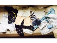 Baby boy bundle 0-6m