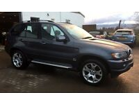 """Low Miles BMW X5 3.0 Sport 84k, History 12 months mot full service history 19"""" alloys LOVELY EXAMPLE"""