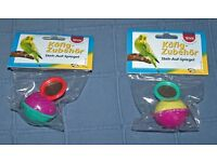 Budgie self righting toys.