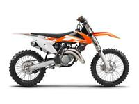 Wanted road legal 125cc ktm / yz